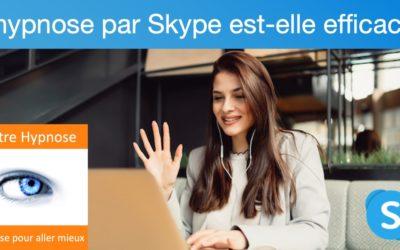 L'hypnose par skype est-elle efficace ?